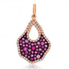 Precious Pink Sapphire Pendant